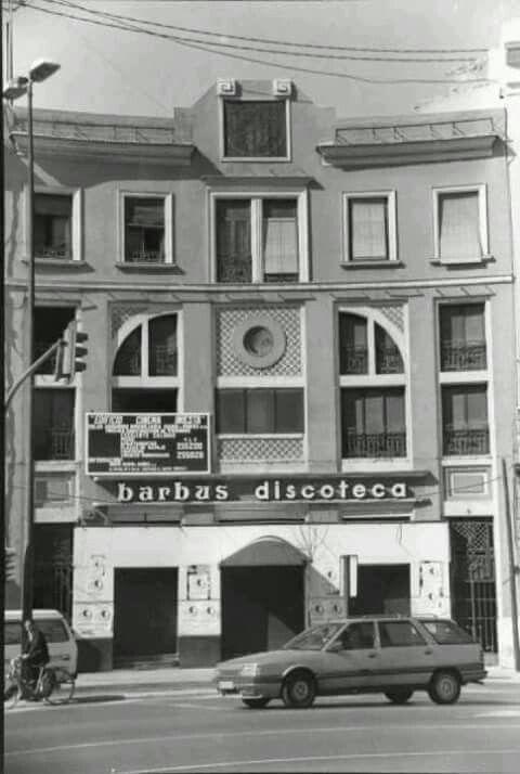 Discoteca Barbus.Murcia años 60.