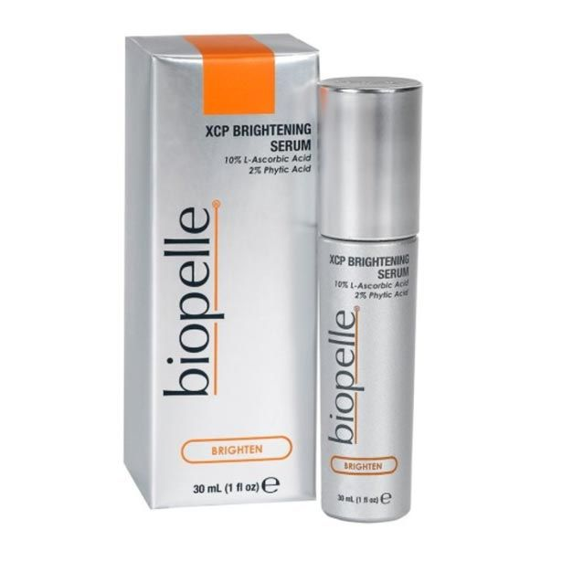 Biopelle XCP Brightening Serum uses stable Vitamin C (also know as L-Ascorbic Acid) to reverse the signs of aging.