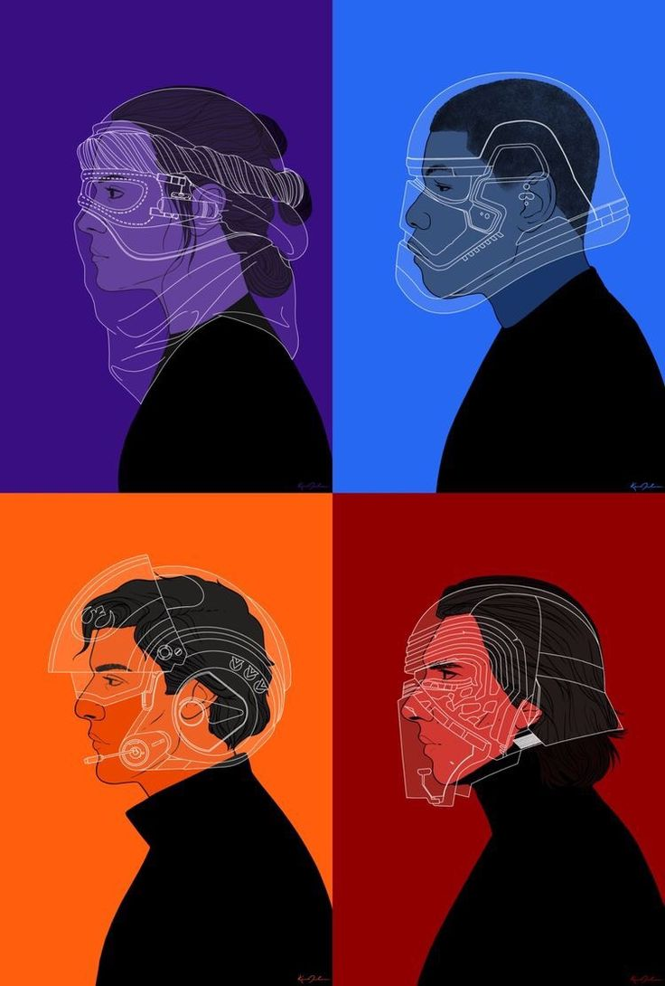 Awesome #StarWars character artwork by rdjpwns
