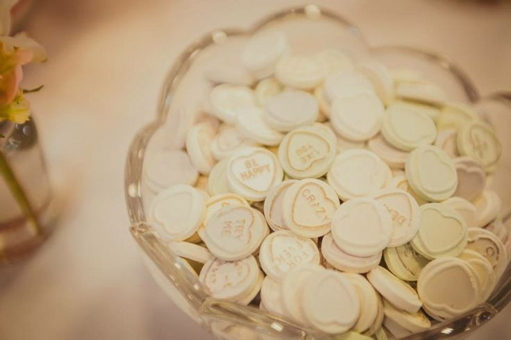 Wedding Reception // Lolly Bar #reception #CandyBar #Candy #Sweets #GlassJars #Flowers #Decorations