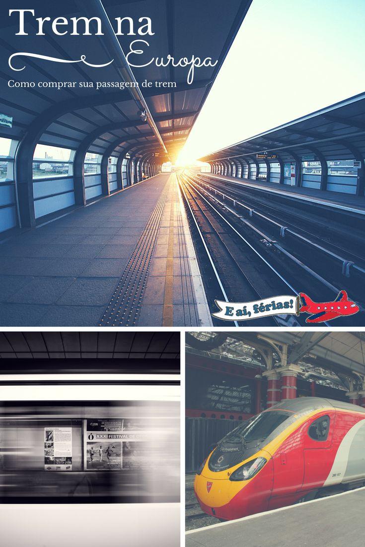 Como comprar sua passagem de trem na Alemanha, via Deustchen Bahn, e outras dicas para a Europa.