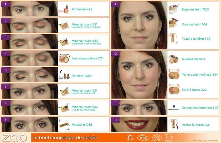 ZAO MakeUp : Maquillage Naturel Rechargeable et Durable - Tutos