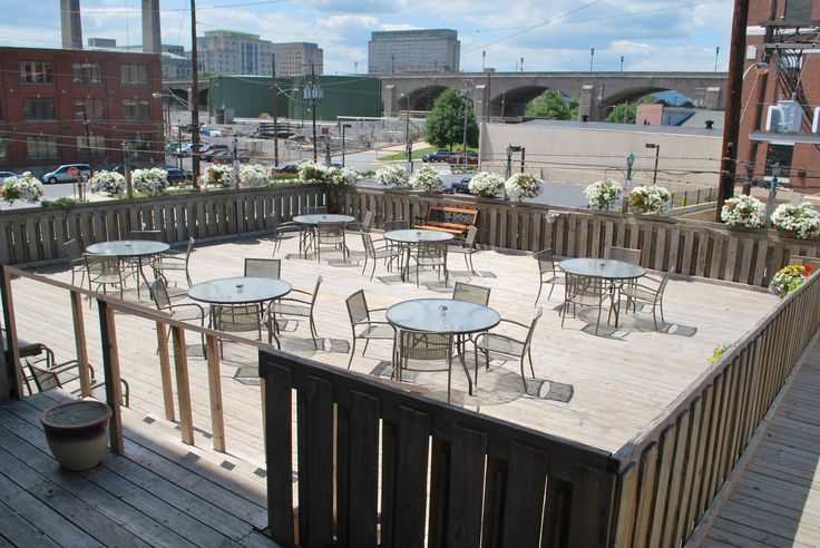 Sometimes a little ABC #CraftBrew and some fresh air is all you need. Come sit out on our deck at our Harrisburg Location! #Harrisburg #Restaurant #outsideseating