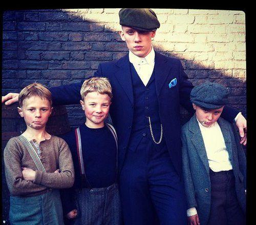 Peaky Blinders - John Shelby (Joe Cole) and the boys