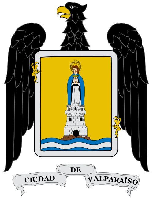 Escudo de Armas de la Ciudad de Valparaíso - Chile