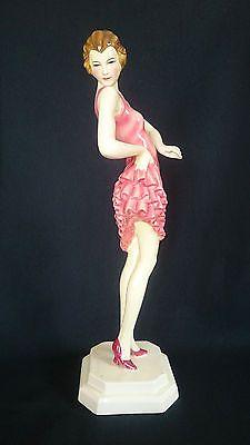 1930s-Rare-STYLIZED-Art-Deco-Goldscheider-Wein-SUPERB-Nude-Female-Dakon-Statue