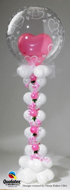 Balloon heart column.  #balloon #art #princess #balloon #sculpture #princess #balloon #centerpiece #princess #balloon #column #princess #balloon #arch #princess #balloon #twist #princess  #balloon #art #heart #column #balloon #sculpture #heart #column #balloon #centerpiece #pink #heart #balloon #column #pink #heart by Maiden11976