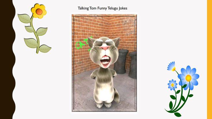 Entertainment - Talking Tom Funny Telugu Jokes #77