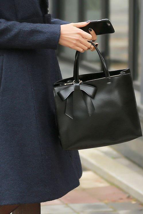 Styleonme_No. 34731 #bags #totebag #bag #ribbon