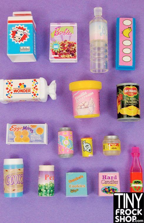 Barbie Toy Food : Best kids barbies images on pinterest
