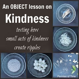 Pennies of Time: Object Lesson on Acts of Kindness