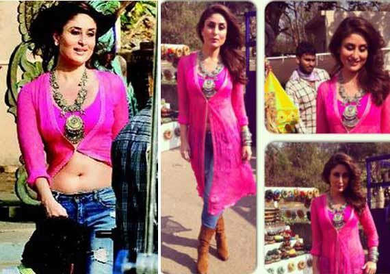 Kareena Kapoor Khan's Gabbar item number first look out! (view pics)