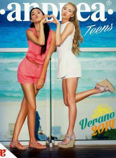 catalogo andrea 2014 teens verano