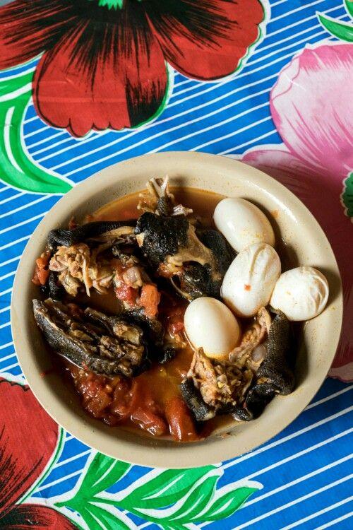 caldo de iguana con huevo juchitan de zaragoza oaxaca