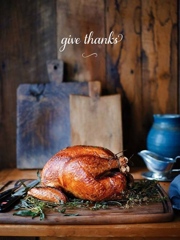 We're grateful for many things, including our wonderful readers. We hope that today finds you sharing good food with good company. Enjoy! Cheers, the Camille Styles Team image via williams-sonoma