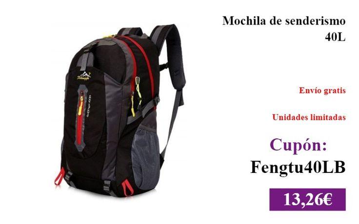Mochila de senderismo 40L  #DeporteYAireLibre ✏  #Mochila #Senderismo #Montañismo https://vdg.fun/t