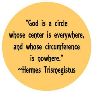 Resultado de imagen para hermes trismegistus god is a circle
