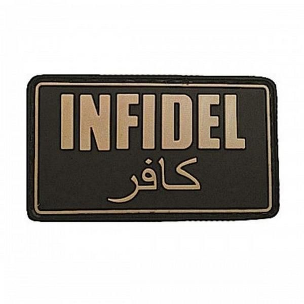 Worried ISIS won't know what side you stand on? Show them with the 5ive Star Gear Infidel Morale Patch. This patch will definitely get the point across.