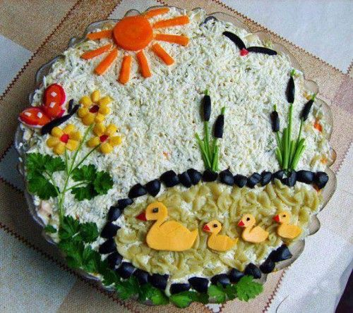 украшаем блюда-33