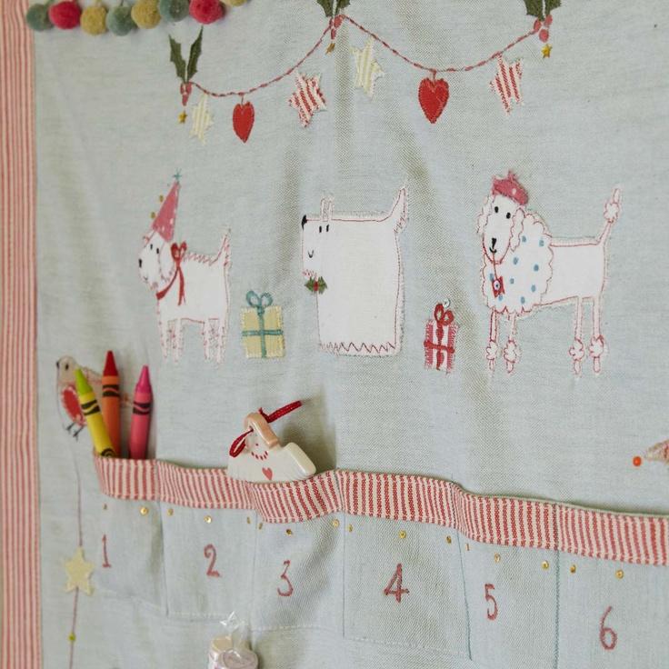 Christmas Advent Calendar Animal Magic - Susie Watson Designs