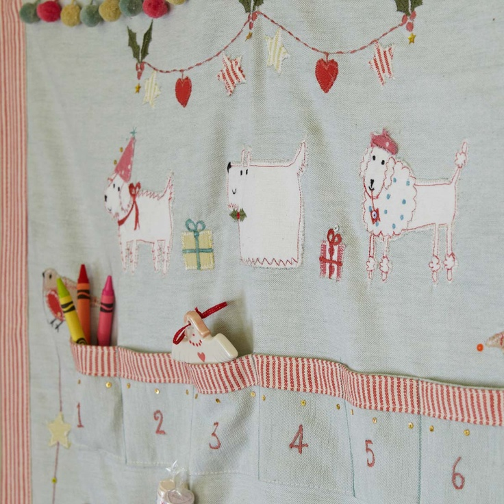 Christmas Advent Calendar Animal Magic - Susie Watson Designs