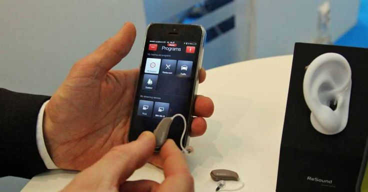 This iOS-ready hearing aid allows you to control your hearing experience from an iPhone app.