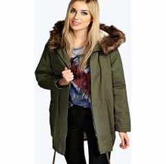 boohoo Gabby Cocoon Luxe Parka - khaki azz24897 Practical and always on trend, pick this classic khaki parka if you want an outerwear piece that will always be on trend! Featuring a luxe Sherpa lining and faux fur hood, we love to wear it over a ch http://www.comparestoreprices.co.uk/womens-clothes/boohoo-gabby-cocoon-luxe-parka--khaki-azz24897.asp