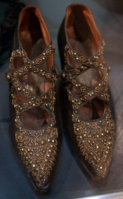 Edwardian ladies shoes