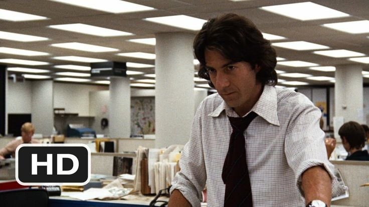 """""""All The President's Men"""", 1976--Robert Redford, Dustin Hoffman, Hal Holbrook, Jack Warden. Reporters Woodward and Bernstein uncover the details of the Watergate scandal that leads to President Nixon's resignation. ***The ultimate cat-and-mouse-game!***"""