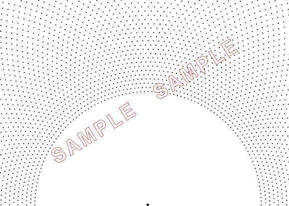 Plotadots - set of six grids - Semi Circular Grids by Lacebobbins on Etsy