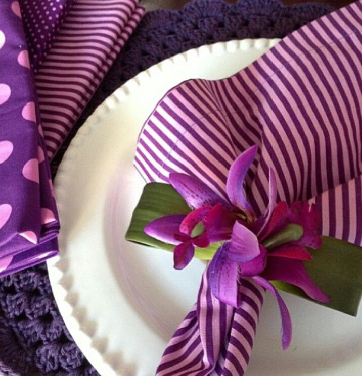 Lotus Leaf Napkin Folding :  invierno navidad vacaciones de invierno fabric napkin napkins napkin 3