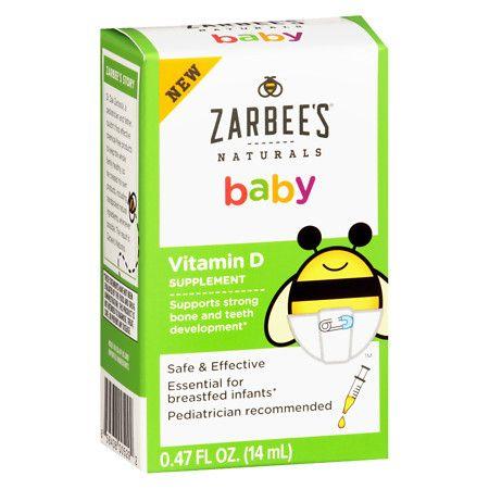 ZarBee's Naturals Baby Vitamin D - 0.47 oz.