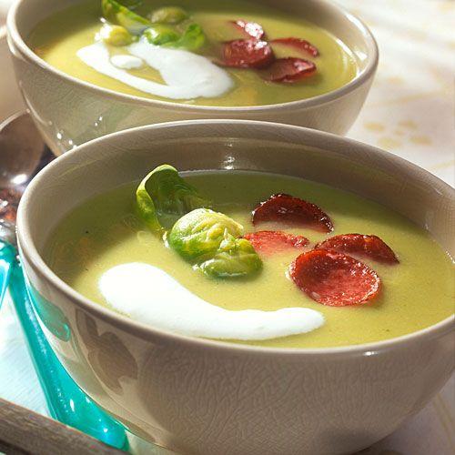 Rosenkohl-Creme-Suppe