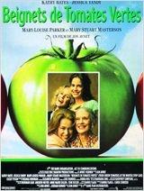 Beignets de tomates vertes (Fried Green Tomatoes-1992-Jon Avnet)  Adapté du roman de Fannie Flagg. De nos jours, en Alabama, Evelyn, femme au foyer, mène une existence monotone jusqu'à sa rencontre avec Ninny, une vieille dame qui va lui redonner goût à la vie. Celle-ci lui raconte sa jeunesse, 60 ans plus tôt, à Whistle Stop, petite bourgade du sud des Etats-Unis, l'histoire d'une amitié entre 2 femmes: Idgie, forte tête, véritable garçon manqué, et Ruth, douce et remarquable cuisinière…