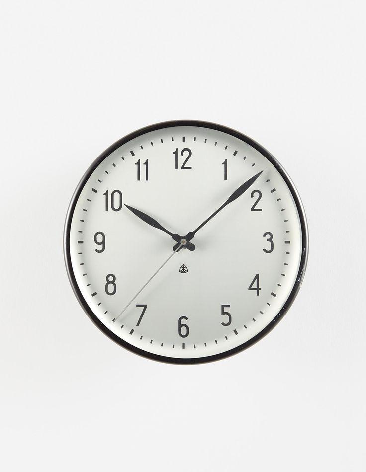 ARNE JACOBSEN Wall clock, circa 1960