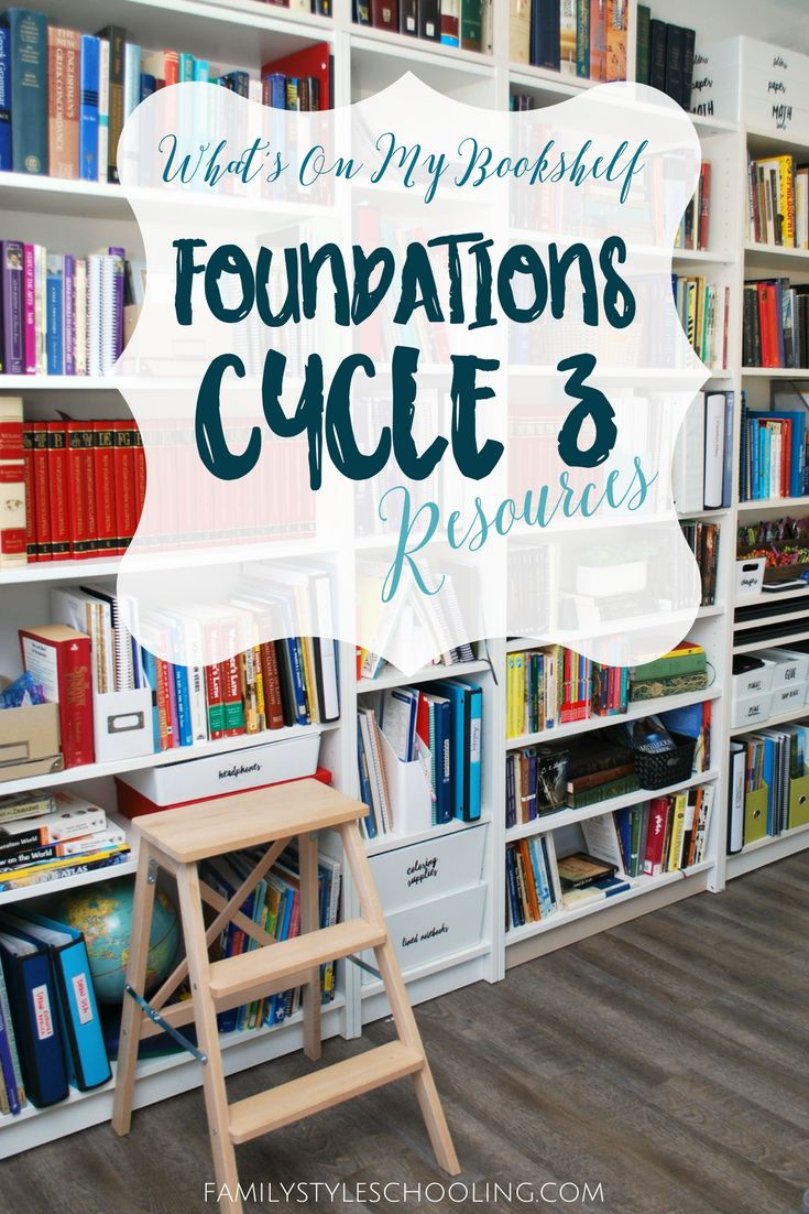 Classical Conversations Cycle 3 book list. http://familystyleschooling.com/2017/03/13/cycle-3-foundations/