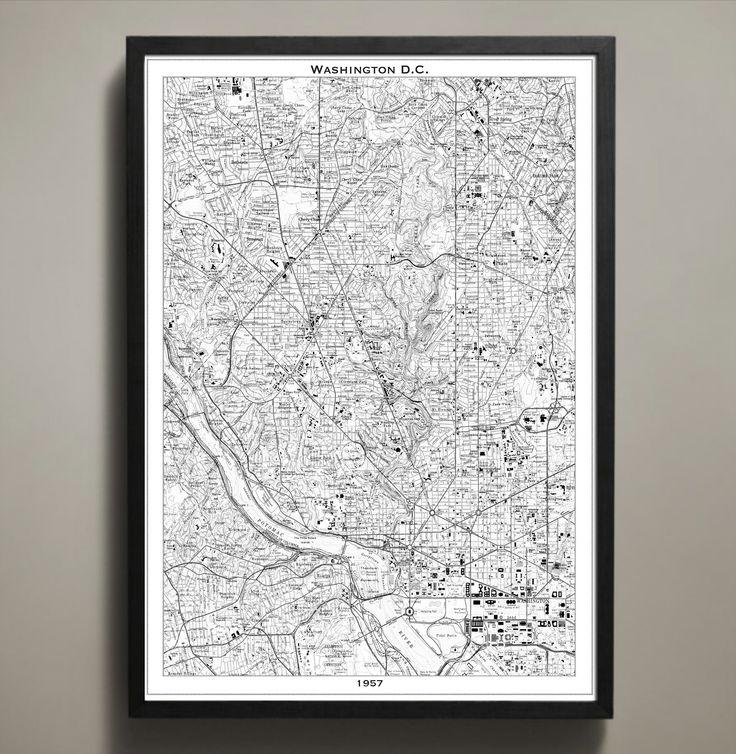 Best 25 Washington dc map ideas on Pinterest  Map of washington