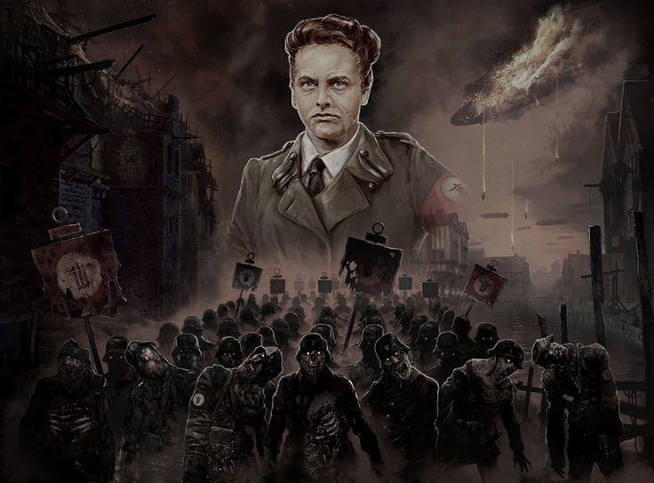 Marketing art for Wolfenstein The Old Blood, axel torvenius on ArtStation at https://www.artstation.com/artwork/EKO20