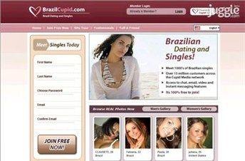 Brazil Cupid: para mulheres latinas e homens europeus, latinos e norte-americanos. www.brazilcupid.com