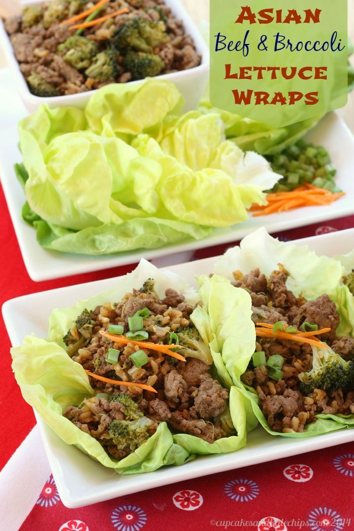 WORDS asian lettus wraps geil