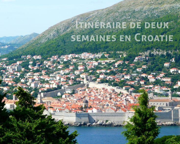 Itinéraire de deux semaines en Croatie