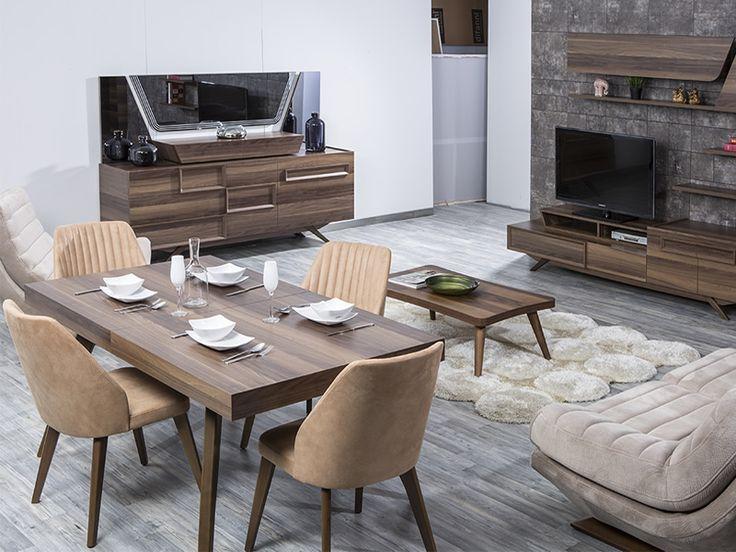 Napoli Modern Yemek Odası sadeliğini ve şıklığını evinize yansıtıyor! #Modern #Furniture #Mobilya #Napoli #Yemek #Odası #Sönmez #Home #EnGüzelAnlara #YeniSezon #Praga #YemekOdası #Home #HomeDesign  #Design #Decoration #Ev #Evlilik #Wedding #Çeyiz #Konfor #Rahat #Renk #Salon #Mobilya #Çeyiz  #Kumaş #Stil #Tasarım #Furniture #Tarz #Dekorasyon #Vitrin