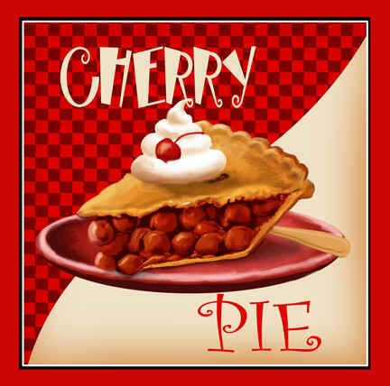 cherry pie | now you may ask why a cherry pie and rose picture because for me two ...