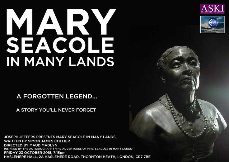 Rehearsed presentation: Mary Seacole in Many Lands | @omarokai @okaicollier @EvcolOfficial @ASKI_UK @MaudMadlyn