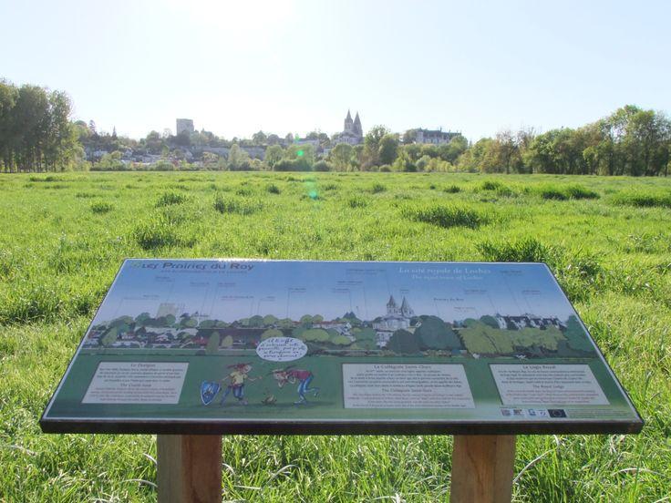 La table de lecture du paysage dans la Prairie