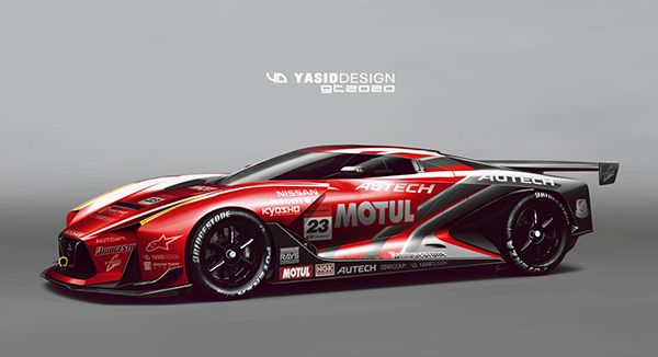 GT2020 by Yasid Design, via Behance