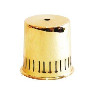 Comprar | Pantalla metálico dorado brillante 95mm | Pantalla dorado brillo  #iluminacion #decoracion #accesorioslamparas #lamparas #accesoriosiluminacion #fabricartulampara #handmade