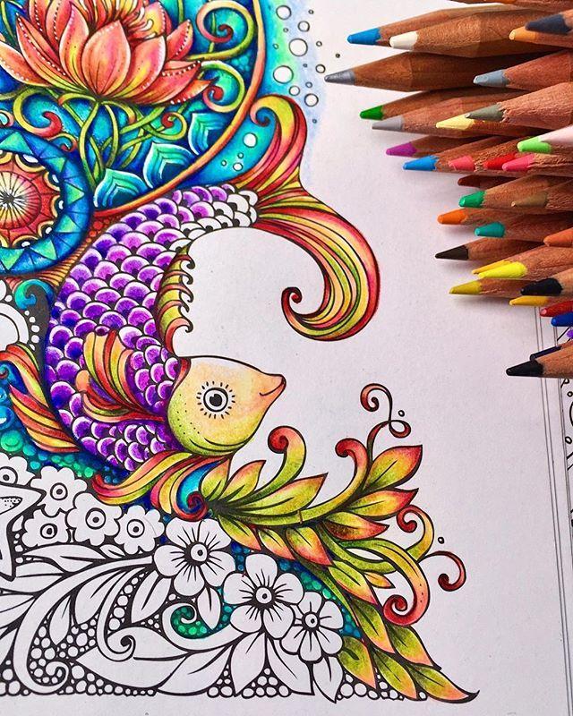 Rita Berman Rita Berman Instagram Photos And Videos Coloring Book Art Marker Art Coloring Books