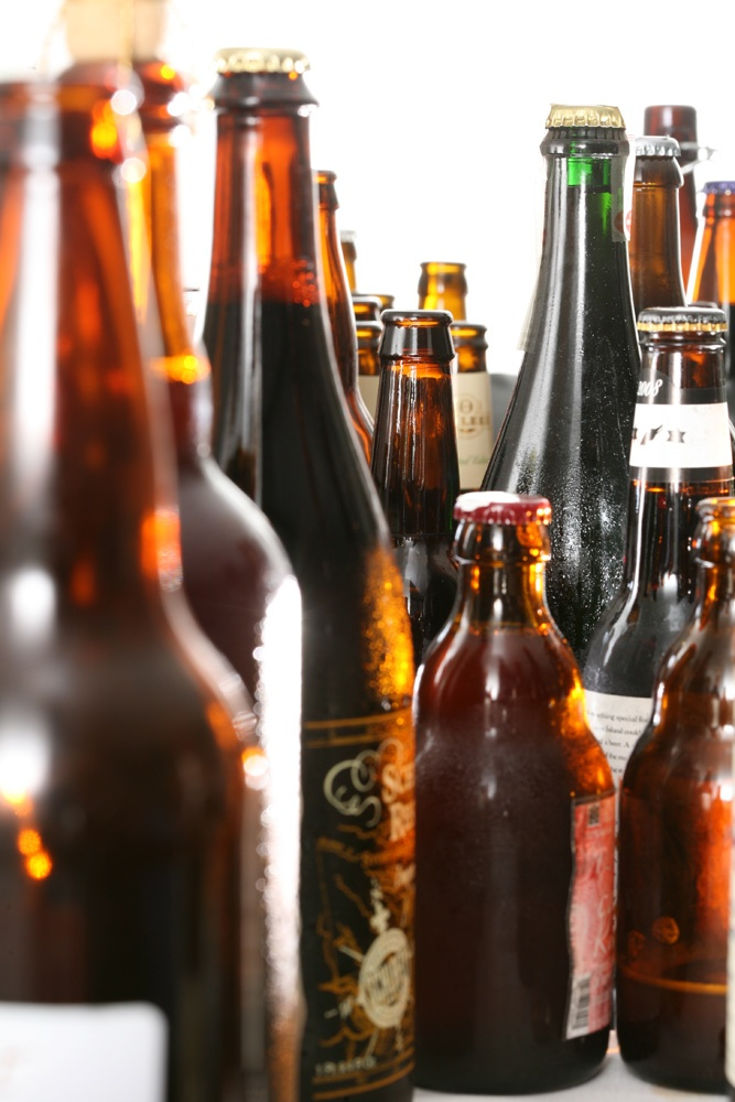 Craft Beer :: Bottles of beer. Photo: Tony Cenicola/The New York Times