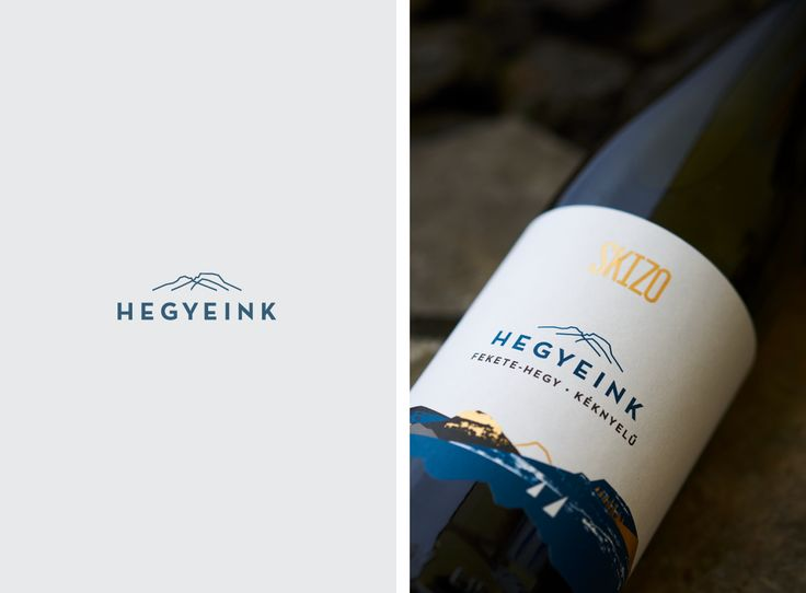 Branding for a premium line of a Hungarian winery